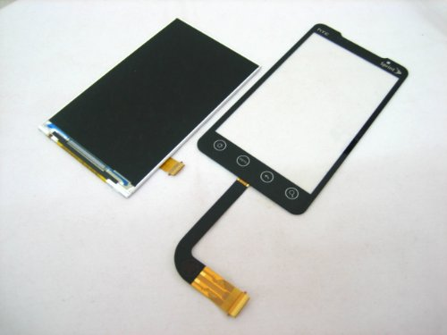 Sprint Htc Evo 4G 4 G A9292 T-Mobile P/N: 60H00322 (Small Side Flex Cable) ~ Lcd Screen Display + Touch Screen Digitizer Front Glass Lens Part ~ Mobile Phone Repair Parts Replacement