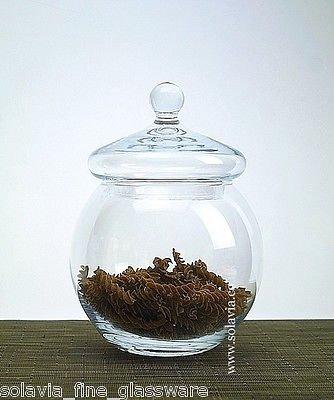handgefertigtes-glas-bon-bon-vorratsdose-22-cm-hoch-sara-biscotti-makronen-jar