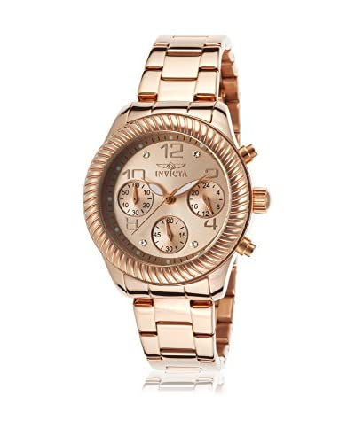 Invicta Women's 20267 Angel Rose Gold-Tone Stainless Steel Watch As You See