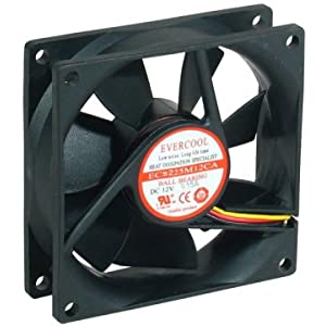 ... 92x92x25mm 12v Ball Bearing Fan EC9225M12CA: Computers & Accessories