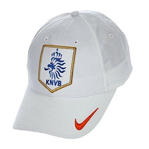 Nike Dutch Squadra Berretto - bianco/arancione, Taglia unica, Cotone