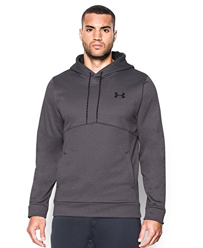 Under Armour Men's Storm Icon Hoodie, Carbon Heather (090), Large