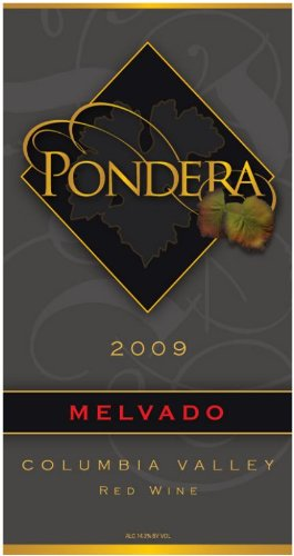2009 Pondera Winery Melvado Red Blend 750 Ml