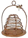 Primitive Rusty Tin Beehive Candle Holder