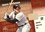 ランス・バークマン Lance Berkman 2002 Donruss StUpper Deckio Leather & Lumber Bat 200枚限定!