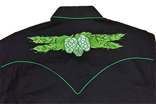 Rockmount Mens Vintage Hops Embroidered Country Western Shirt 1