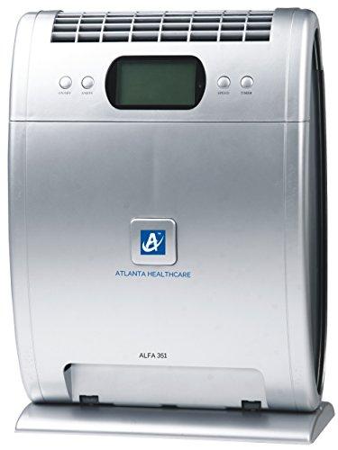 Atlanta Healthcare Alfa 351 40-Watt Air Purifier (Grey)