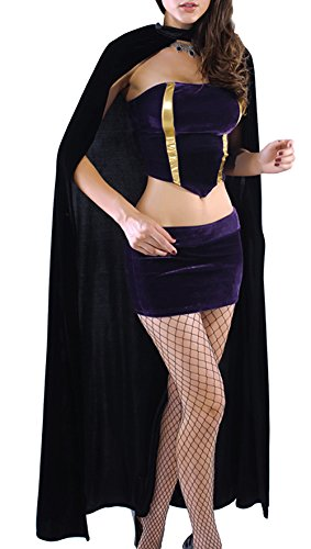 Z-LMDS Women's Sexy Cosplay Witch Dancing Party Halloween Costume