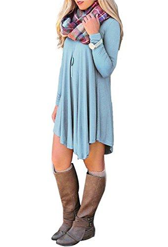 reachme-womens-long-sleeve-casual-loose-t-shirt-dress-midi-tunics-for-leggingslight-blues