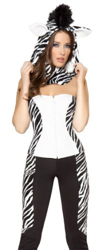 Wild Zebra Adult Animal Costume (Wild Zebra Adult Womens Costume)
