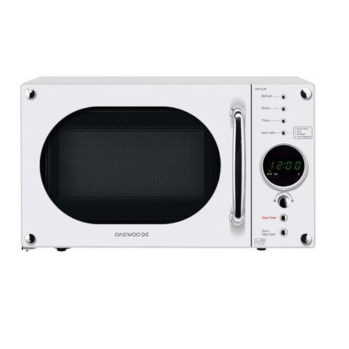 Daewoo KOR6N9RW Digital Microwave, 20 L, 800 W - White