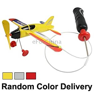 Super Aeroplanist Power Plane with Cord Remote (Random Color Delivery)