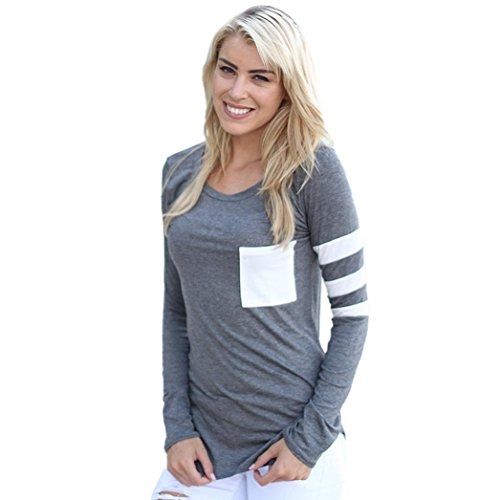 generic-womens-long-sleeve-tops-splice-pure-color-casual-blouse-t-shirt-s-grey