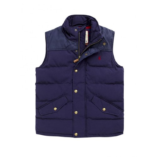 Joules mens navy BURBANK GILET size extra large