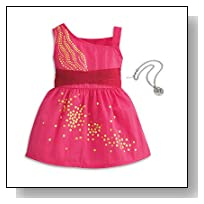 American Girl Saige - Saige's Sparkle Dress - American Girl of 2013