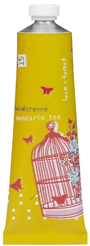 Love & Toast Mandarin Tea 35G/1.25Oz Handcreme