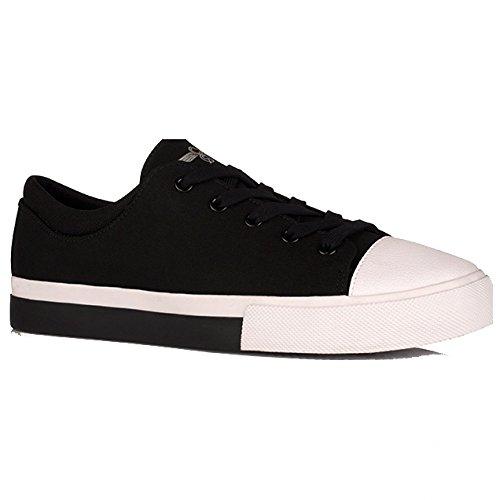 Creative Recreation Men's Forlano Fashion Sneaker, Black/White, 14 M US