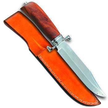 Ft Washita Bowie Knife With Sheath