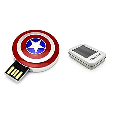 Quace Metal Shield Fancy USB Flash 32 GB Pen Drive