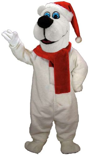 Xmas Bear Lightweight Mascot Costume
