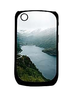 Mobifry Back case cover for BlackBerry Curve 8520 Mobile ( Printed design)