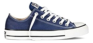 Converse Men's Chuck Taylor All Star Low Top Sneaker Navy 18 M