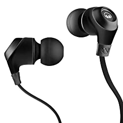 Monster Ncredible Nergy in-ear headphones with mic midnight black