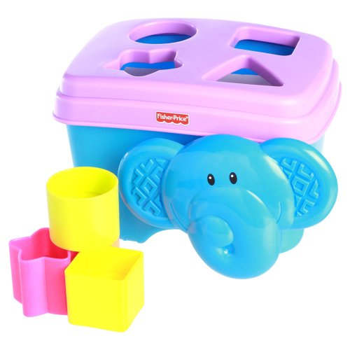 Fisher Price Growing Baby Elephant Shape Sorter
