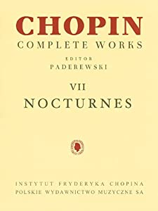 Nocturnes: Chopin Complete Works Vol. VII by Pwm