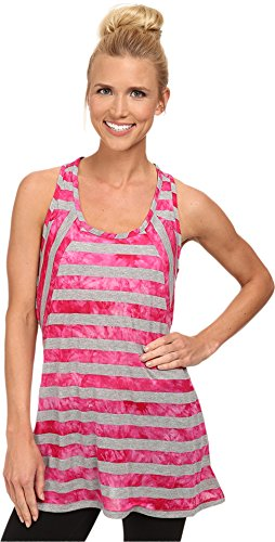LOLE Women's Dawn Top, Medium, Rhubarb Stripe