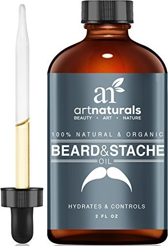 Art-Naturals-Organic-Beard-Oil-Leave-In-Conditioner-59-ml-100-Pure-Natural-Unscented