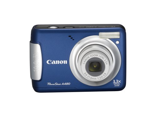 Canon PowerShot A480 is the Best Digital Camera Overall Under $100