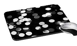 meSleep White Spots Mouse Pad