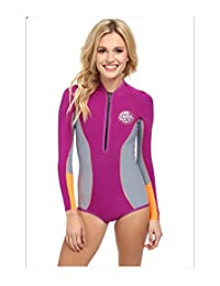 New Rip Curl Women's G-Bomb Ls Spring Suit Long Sleeve Stretch Neoprene