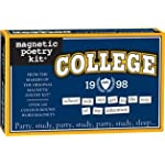 College Magnetic Poetry Word Magnets