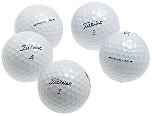 Titleist Pro V1 X AAA Recycled Golf Balls (36 Pack) by Titleist