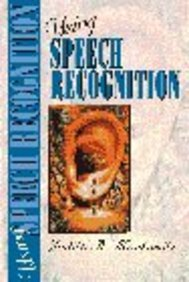 Using Speech Recognition, Judith A.; Markowitz, Judith Markowitz