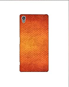 Sony Xperia Z5 ht003 (124) Mobile Case from Mott2 - Brown Color Pattern (Limited Time Offers,Please Check the Details Below)