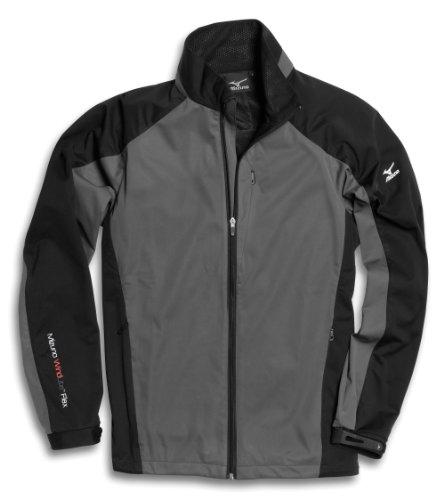 Mizuno Windlite Fleece Mens - Grey/Black X-Large