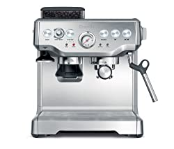 Breville RM-BES860XL Remanufactured Barista Express Programmable Espresso Machine with Grinder from Breville ( Refurbished)
