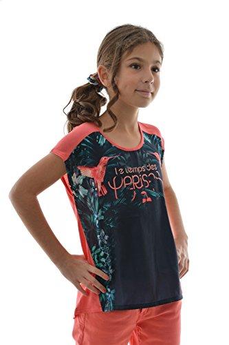 T-shirt a maniche corte con Le Temps Des Cerises birdisgi, colore: rosa rosa 12 anni