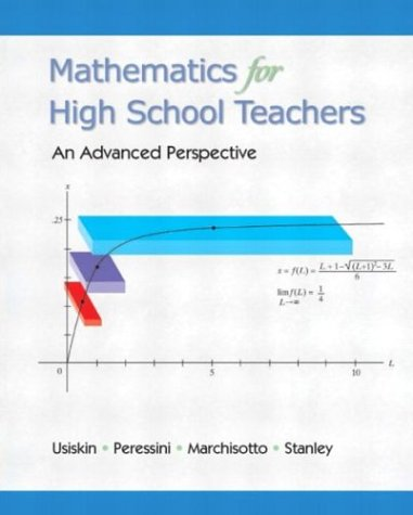 Mathematics for High School Teachers- An Advanced...