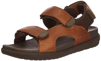 Fitflop Men's Landsurfer Sandals, Tan, 40 UK