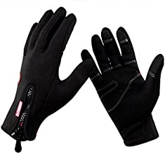 B-FOREST Men39s Winter Outdoor Cycling Glove Touchscreen Gloves for Smart Phone