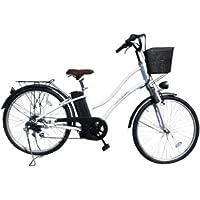 電動自転車 26インチ ホワイト 451assist
