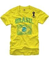 FIFA 2014 World Cup Soccer - Brasil - T-Shirt
