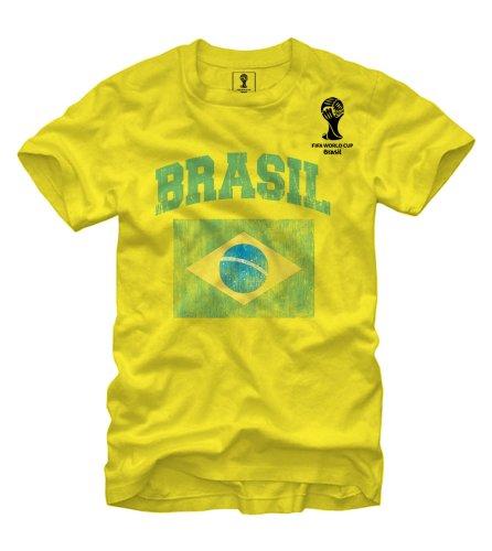 FIFA 2014 World Cup Soccer - Brasil - T-Shirt (Large)