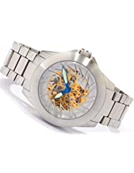 Android Ninja 50 Skeleton Automatic Men's Watch Goldtone Dial