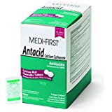 Medique Products 80213 Medi-First Antacid, 500 Tablets, 250 X 2