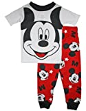 Mickey Mouse Toddler Boys 12M-5T Cotton Pajama Set (24 Months)